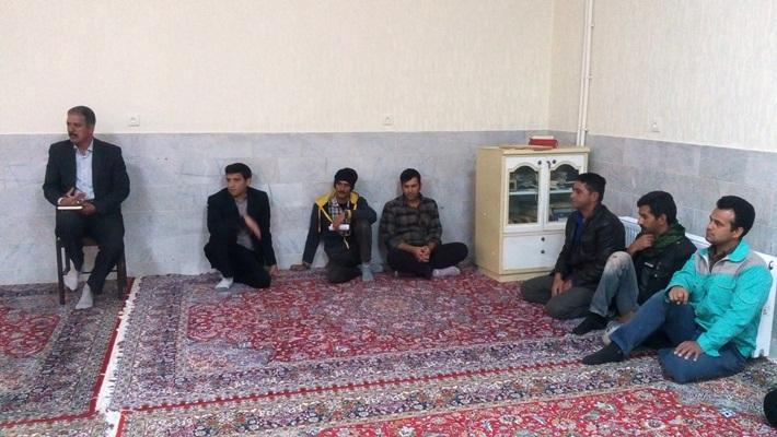 برگزاری جلسه با پرسنل فضای سبز شهرداری زارچ