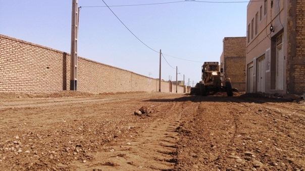 گزارش تصویری/فعالیتهای عمرانی شهرداری زارچ