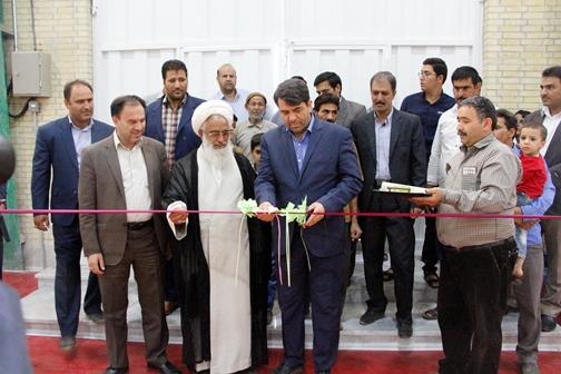 افتتاح سالن چند منظوره ورزرشی اله آباد