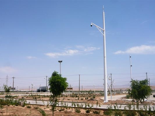 نصب دوربین های مدار بسته در ورودی های شهر آغاز شد.