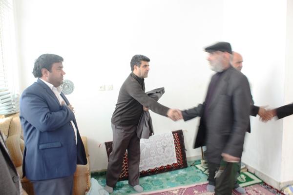 دیدار با خانواده های شهید عامل هوشمند و رحیمی