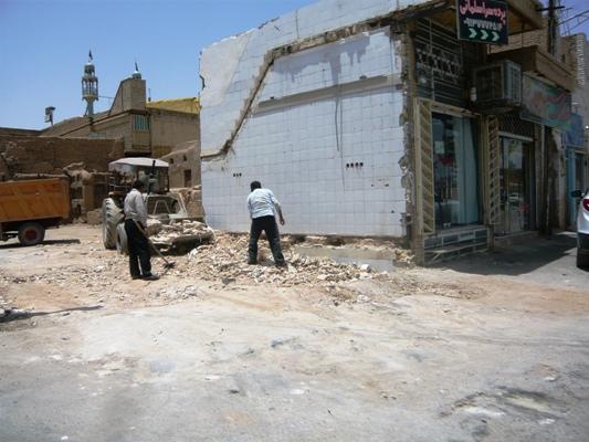 خیابان امام (ره)یک گام به آزاد سازی کامل نزدیک شد